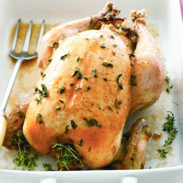 Chicken with Mushroom, Leek and Bacon Stuffing