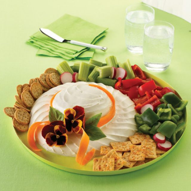 Easter Bonnet Cheese Spread