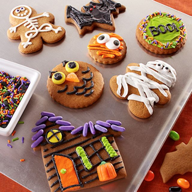 Halloween Molasses Cut-Outs