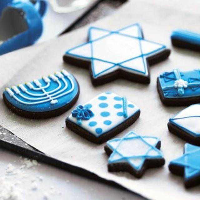 Hanukkah Cookie