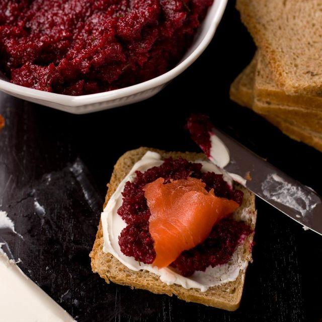 Beet-Horseradish-Dill Spread