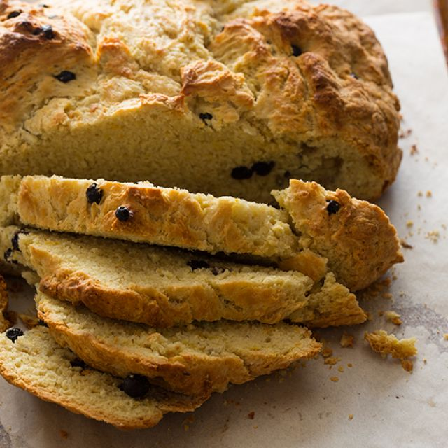 Irish Soda Bread with Dried Blueberries