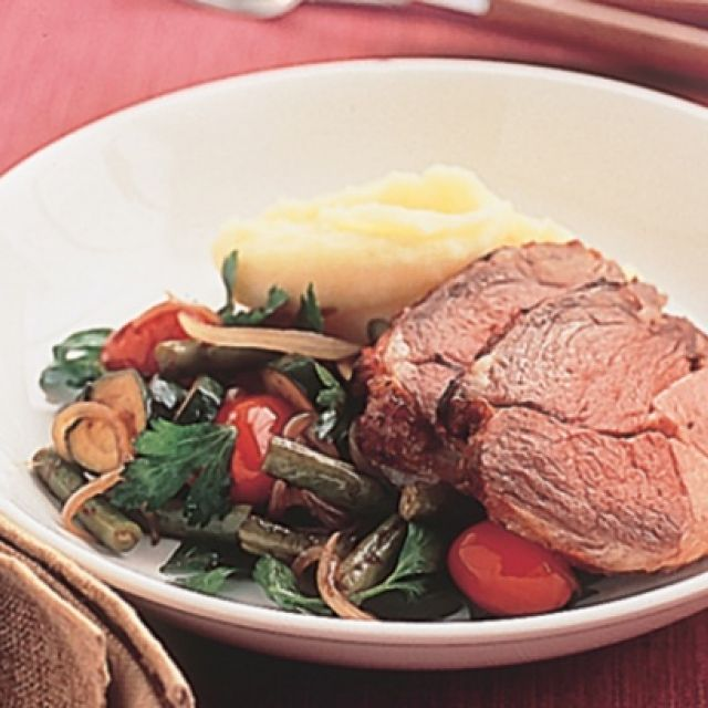 Lamb Roast with Vegetables