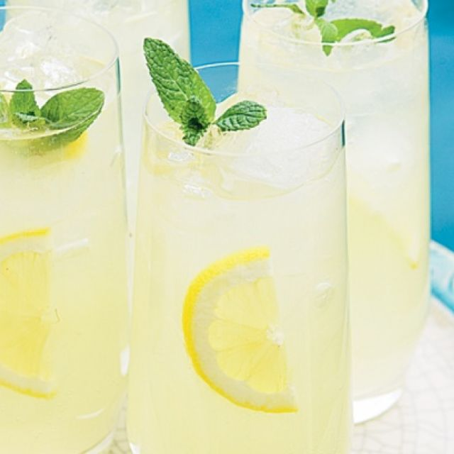 Lemonade with Orange Blossom Water