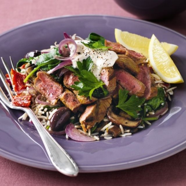 Middle-Eastern Lamb Salad