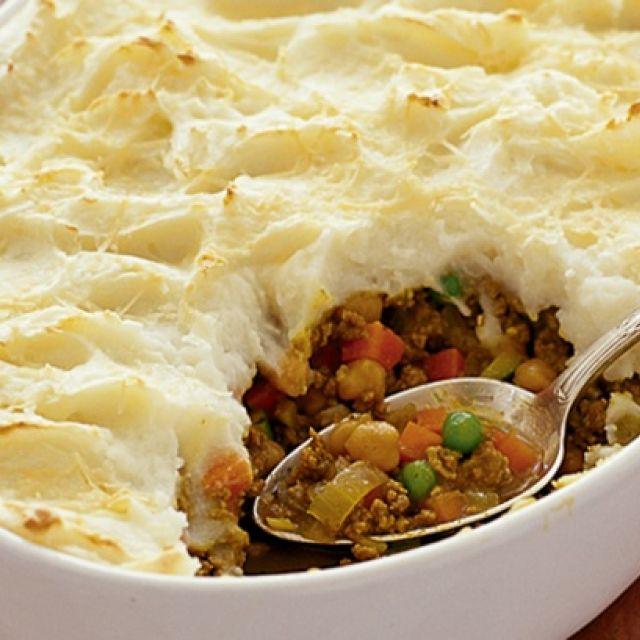 Moroccan-Style Shepherd's Pie
