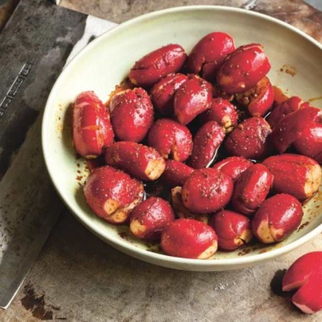Radishes in Chile Oil Sauce