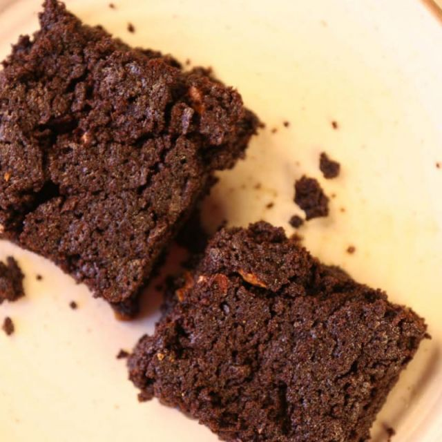 Rich Chocolate Brownies (Eggless Option)