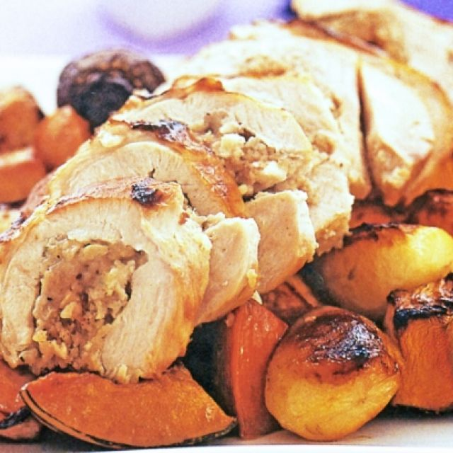 Roast Turkey with Redcurrant Vegetables