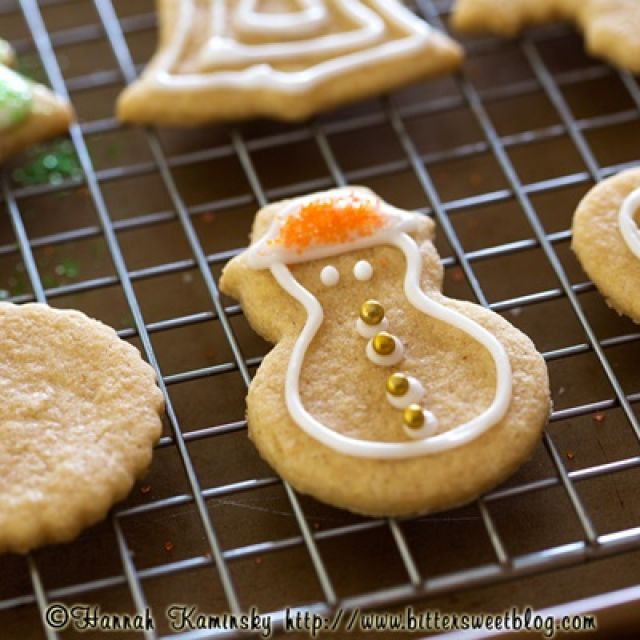 Dairy-Free Sugar Cookies (Roll and Cut)
