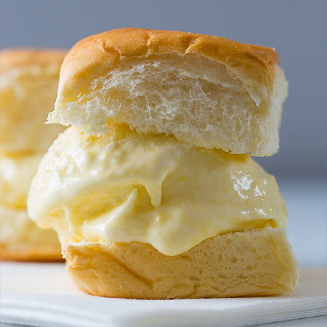 Sweet Corn Ice Cream (Sandwiches)