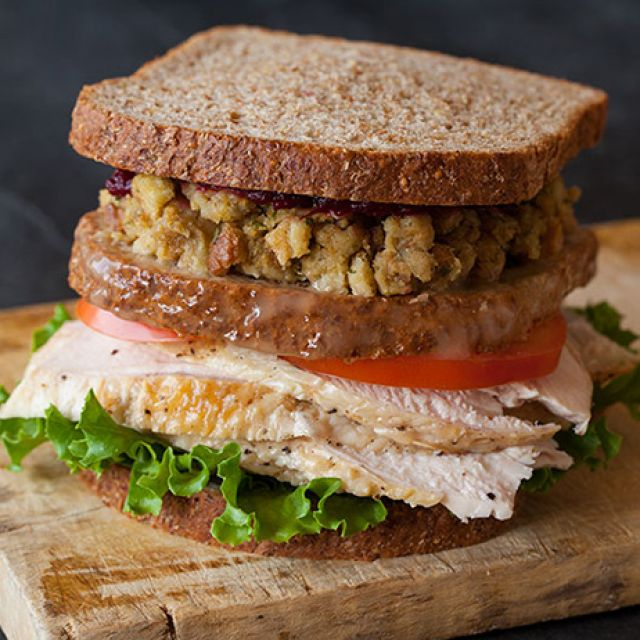 Thanksgiving Turkey Sandwich…with a Moist Maker