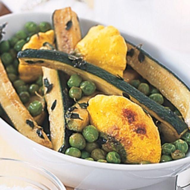 Vegetables with Lemon Thyme