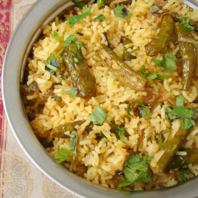 Dondakaya Annam ~ Tindora (Ivy Gourd) Rice
