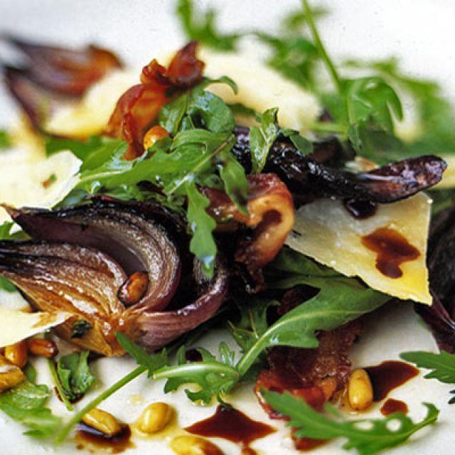 Warm Arugula Salad