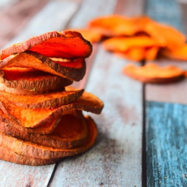 Sweet Potato Crisps