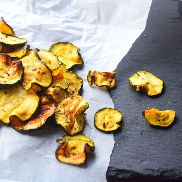 Courgette (Zucchini Chips) Crisps