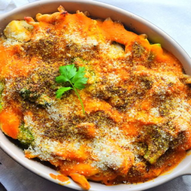 Healthy Chicken Pasta Bake