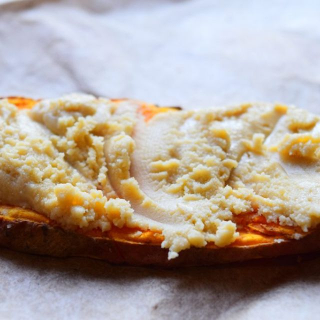 Sweet Potato Toast with Almond Butter