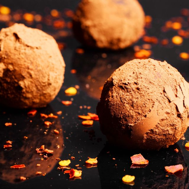 Vegan Chilli Chocolate Truffles