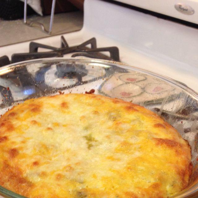 Cheesy Chile Relleno Puff
