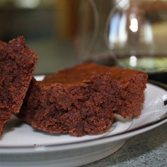 Swiss Double Chocolate Brownies