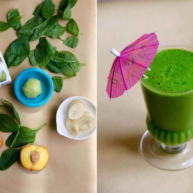 Tropical Paradise Green Smoothie