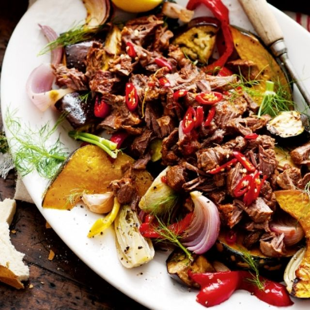 Chunky Roast Vegetables with Sage and Lemon