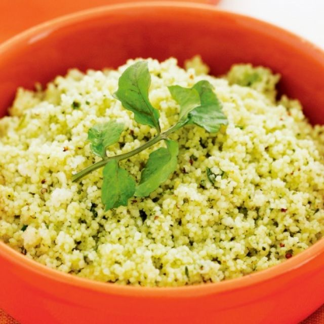 Watercress and Chive Couscous