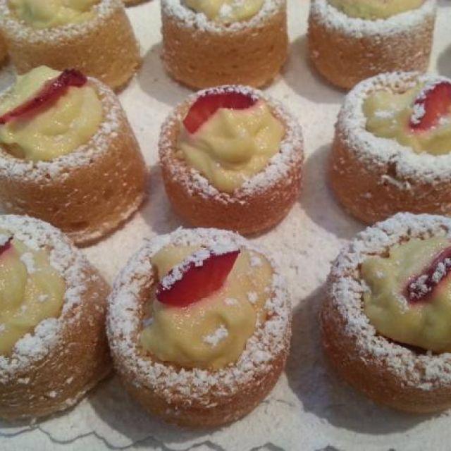 Vegan Lemon Genoise Cake