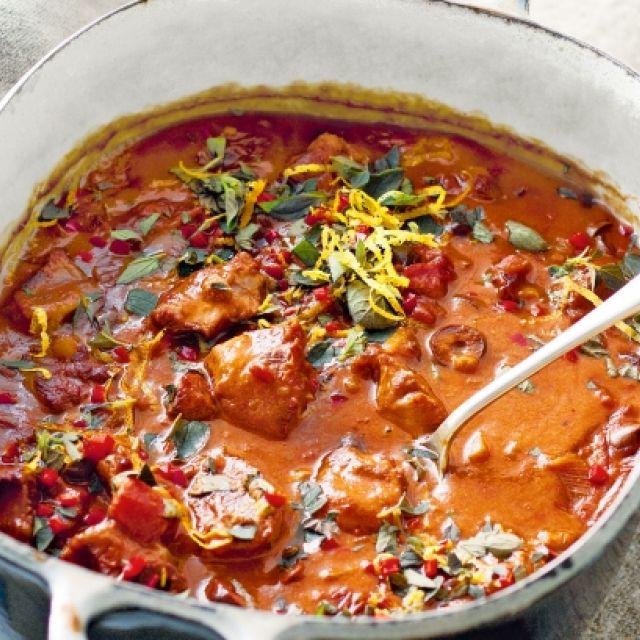 Lamb Stew with Oregano and Chili Gremolata