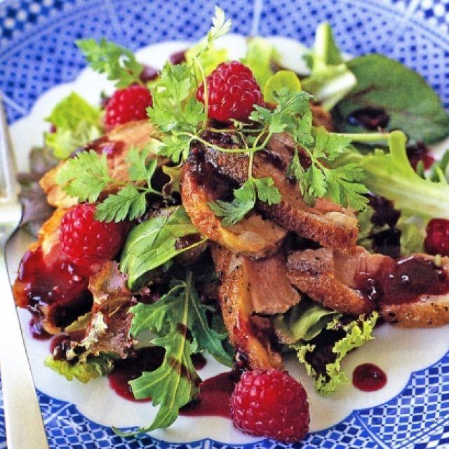Duck Breast with Raspberry Vinegar (Gluten-Free)