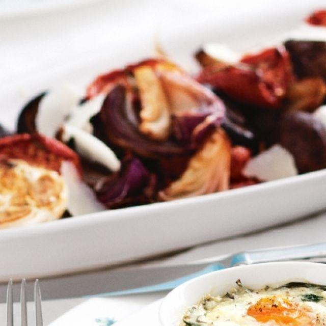 Rosemary Balsamic Roast Vegetables