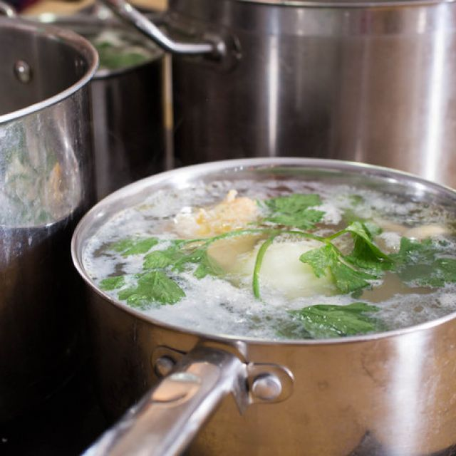 Basic Chicken Stock