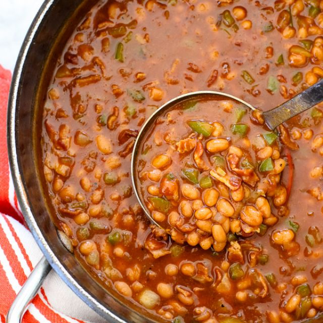 The Best Barbecue Baked Beans