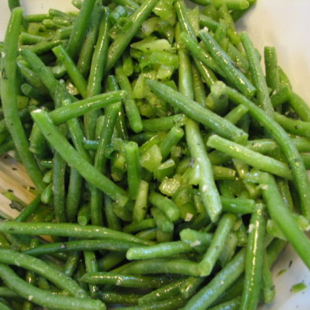 Seasoned Green Beans Oamc