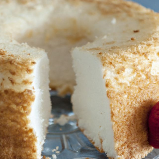 Angel Food Cake - Homemade