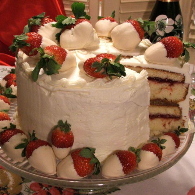 Anne Byrn's Lemon Lover's White Chocolate Cake
