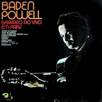 Baden Powell - Gravado ao vivo em Paris LP