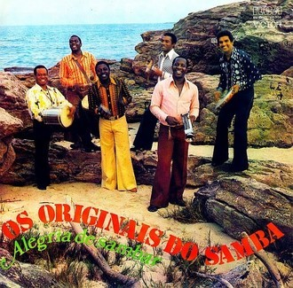 Originais do Samba - alegria de sambar LP