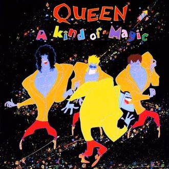 Queen - A kind of magic LP (excelente estado)