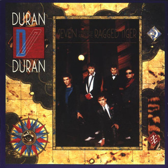 Duran Duran - Seven and the Ragged Tiger LP (excelente estado)