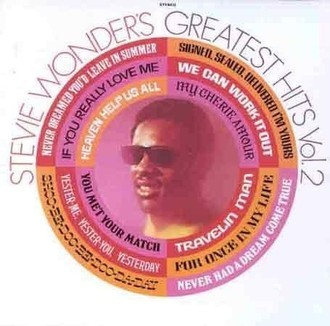 Stevie Wonder - Greatest Hits vol. 2 LP