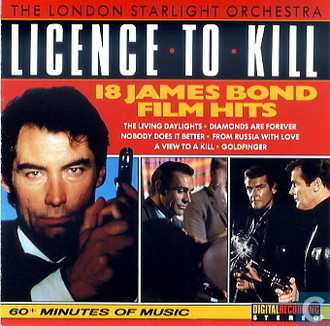 The London Starlight Orchestra - James Bond Licence to Kill LP