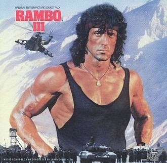 Rambo III - original motion soundtrack LP