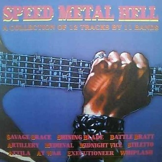 Speed Metal Hell - a collection of 12 tracks by 11 bands LP
