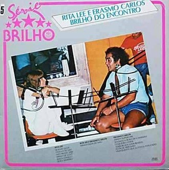 Rita Lee e Erasmo Carlos - brilho do encontro LP