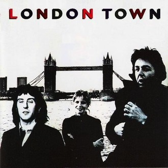 Paul McCartney & Wings - London Town LP (ótimo estado/com pôster)