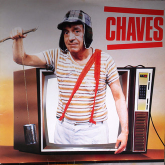 Chaves - trilha sonora do seriado LP (excelente estado)