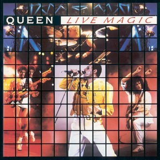 Queen - Live Magic LP (com encarte)